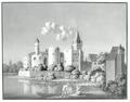 Schloss Hülchrath von Südosten, 1795.png