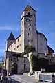 Schloss Rapperswil - Schlosstreppe 2012-12-31 12-57-03.JPG
