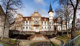 Schkopau Place in Saxony-Anhalt, Germany