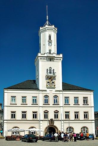 Schneeberg, Saxony - Town Hall