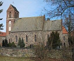 Church in Panketal-Schwanebeck in Brandenburg, Germany