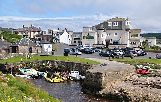 Scotland, Isle of Arran, Blackwaterfoot (2)