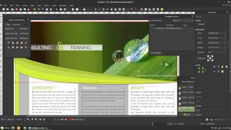 Scribus - Image: Scribus 1.4.6 on Linux Mint 18