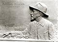 Sculpture d'Achille Millien par le sculpteur Alix Marquet 1938.jpg