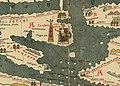 Sea of Marmara - Die Weltkarte des Castorius, gennant die Peutinger'sche Tafel, in den Farben des Originals herausgegeben und eingeleitet von Dr. Konrad Miller (cropped).jpg
