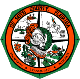 DeSoto County, Florida - Image: Seal of De Soto County, Florida