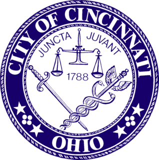 Seal of Cincinnati official insignia of the city of Cincinnati, Ohio, United States