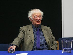English: Picture of the Irish poet and Nobel P...