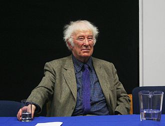 2009 in poetry - Seamus Heaney addresses the Law Society (University College Dublin), this year