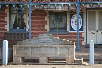 Watering trough - A Bills horse trough in Sebastian, Victoria, Australia