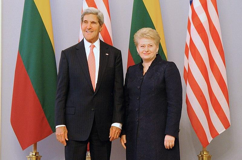 Secretary Kerry Meets With Lithuanian President Dalia Grybauskait%C4%97 (2).jpg