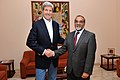 Secretary Kerry Poses For Photo With Foreign Minister Borges of Cape Verde During Refueling Stop on Sal Island (13930872660).jpg