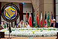 Secretary Kerry Sits With His Fellow Foreign Ministers From the Gulf Cooperation Council Amid a Series of Meetings in Manama (26227101481).jpg