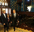 Secretary Kerry and Russian Foreign Minister Lavrov Walk to Their Meeting in Moscow (23138629294).jpg