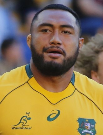 Sekope Kepu - Kepu playing for the Wallabies against Italy, 24 June 2017