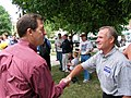 Sen. Sam Brownback visits Winterset (566488291).jpg