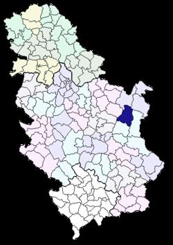 mapa srbije bor Bor (općina) – Wikipedija mapa srbije bor
