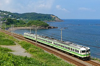 Shinetsu Main Line Lines operated by the East Japan Railway Company (JR East) in Japan