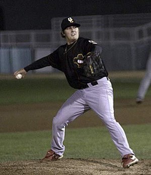 Seth Maness - Maness pitching for the Quad Cities River Bandits in 2011