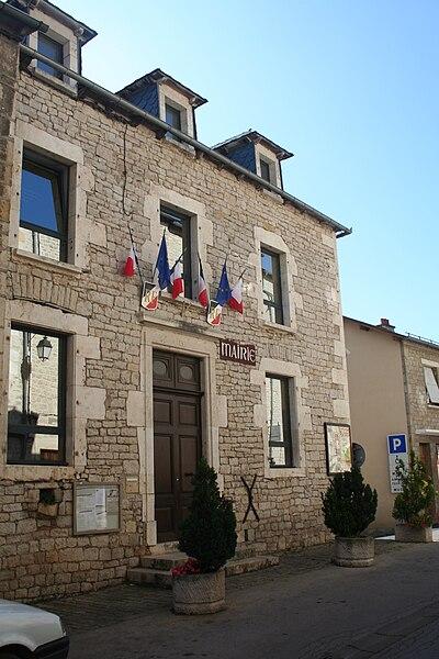Sévérac-le-Château (Aveyron) - mairie.