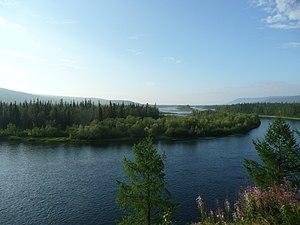 Severnaya River (tributary of Nizhnyaya Tunguska).jpg