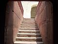 Shalamar Garden July 14 2005-Staircase connecting first and second levels.jpg