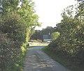 Sharp bend in the road near Presaddfed Grand Lodge - geograph.org.uk - 993418.jpg