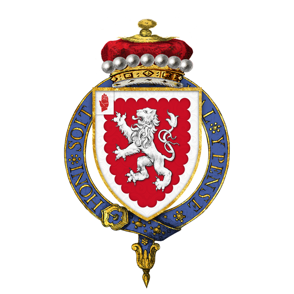 Shield of Arms of Edward Grey, 1st Viscount Grey of Fallodon, KG, PC, DL, FZS