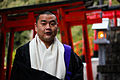 Shingon monk at the Shigisan Chosonshiji temple.jpg