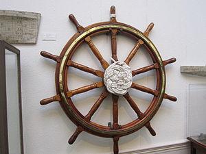 Ship's wheel, Williamson Art Gallery.jpg