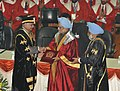 Shivraj V. Patil confers an honorary doctorate degree on the Prime Minister, Dr. Manmohan Singh, at the Golden Jubilee Convocation of Punjab Agricultural University, at Ludhiana on December 08, 2012.jpg