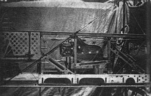 Short Type 184 - Cockpit section of fuselage.