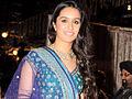 Shraddha Kapoor at the wedding reception of Honey Bhangani.jpg