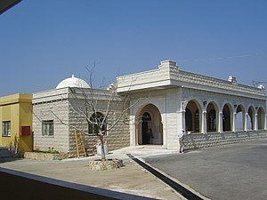 Beit Jann - Shrine of Baha' ad-Din, probably dedicated to the founding Druze leader of this name