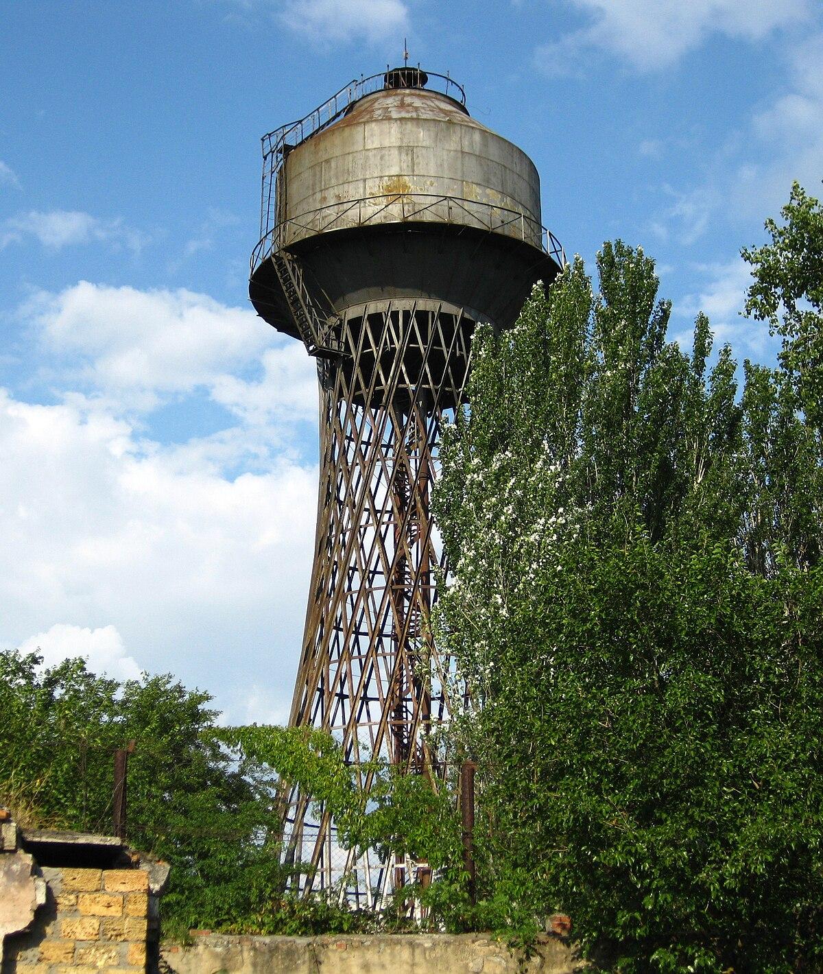 Википедия водонопорная башня во владимире