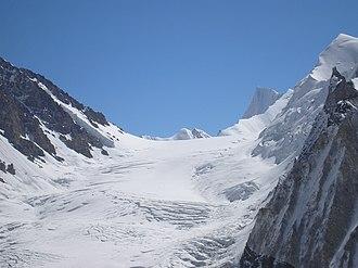 Northwest side of Sia La from the Kondus Glacier
