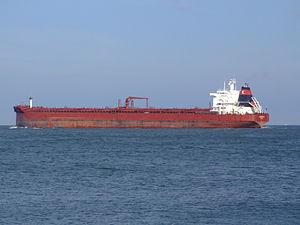 Sibonina - IMO 9036519 - Callsign A8LU6 leaving Port of Rotterdam, Holland 27-Jan-2005 photo-4.jpg