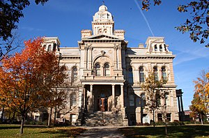Sidney, Ohio - Shelby County courthouse.