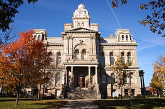 Shelby County, Ohio - Image: Sidney ohio courthouse