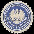 Siegelmarke Der Vorsitzende der Einkommensteuer-Veranlagungskommission W0328180.jpg