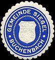 Siegelmarke Gemeinde Siegel Buchenbach W0310470.jpg