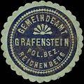 Siegelmarke Gemeindeamt Grafenstein Pol. Bez. Reichenberg W0313000.jpg
