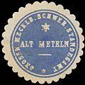 Siegelmarke Grossh. Mecklenb. Schwer. Standesamt Alt Meteln W0338053.jpg