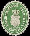 Siegelmarke K.S. Standesamt Neschwitz W0352884.jpg