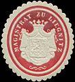 Siegelmarke Magistrat zu Liegnitz-Schlesien W0348894.jpg