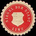 Siegelmarke Siegel der Stadt Linz W0309908.jpg