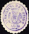 Siegelmarke Verwaltung der Königlich Bayerischen Stadt Aub W0229167.jpg