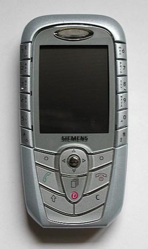 Siemens Mobile - The Siemens SX1
