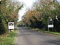 Signals on Chalk Lane near RAF Marham, long view.jpg