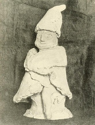 Household deity - Early-20th-century Slavic cult statuette of a Domovoy, the household deity, progenitor of the kin, in Slavic paganism